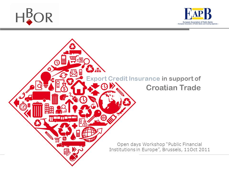 Croatian Trade Export Credit Insurance in support of