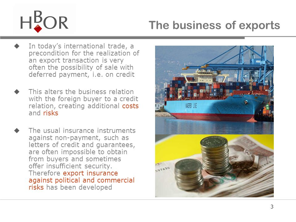 The business of exports