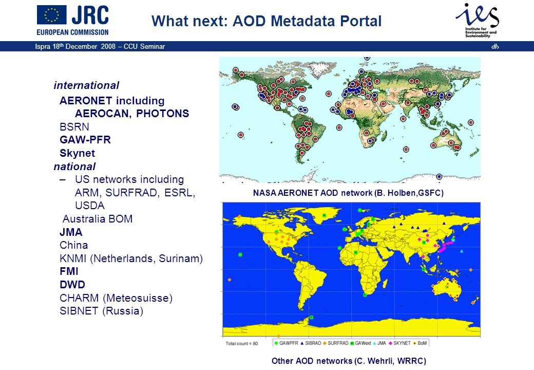 What next: AOD Metadata Portal