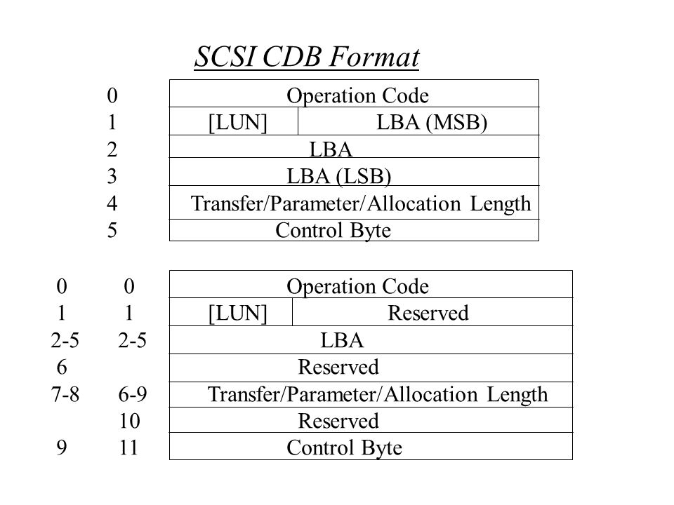 What is SCSI? Small Computer System Interface SCSI is: a