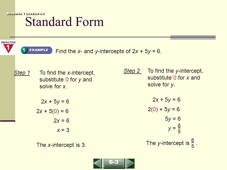 Lesson 6 3 Part 1 Standard Form Page Ppt Video Online Download
