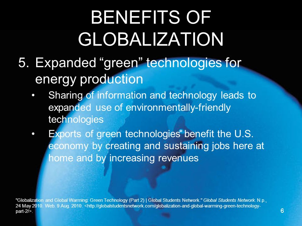 Globalization: A Cost and Benefit Analysis - ppt download