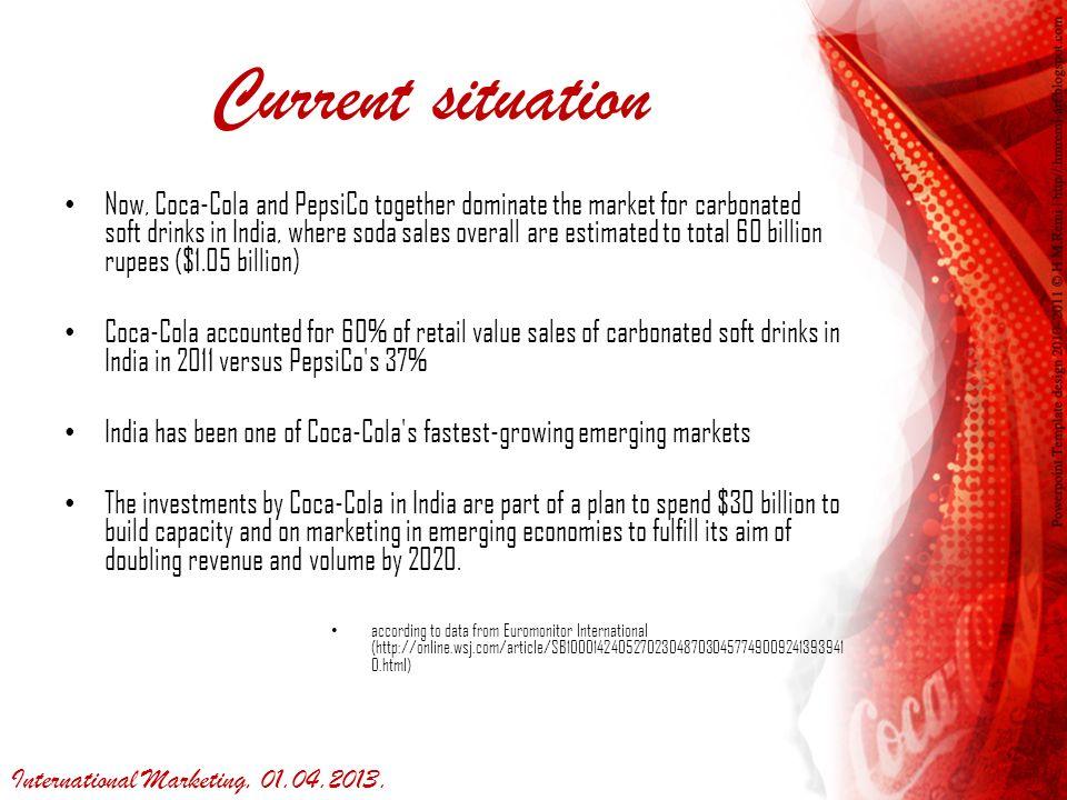 Coca – Cola in India RAM Team, GMBA, MA1N0103 陳乃華