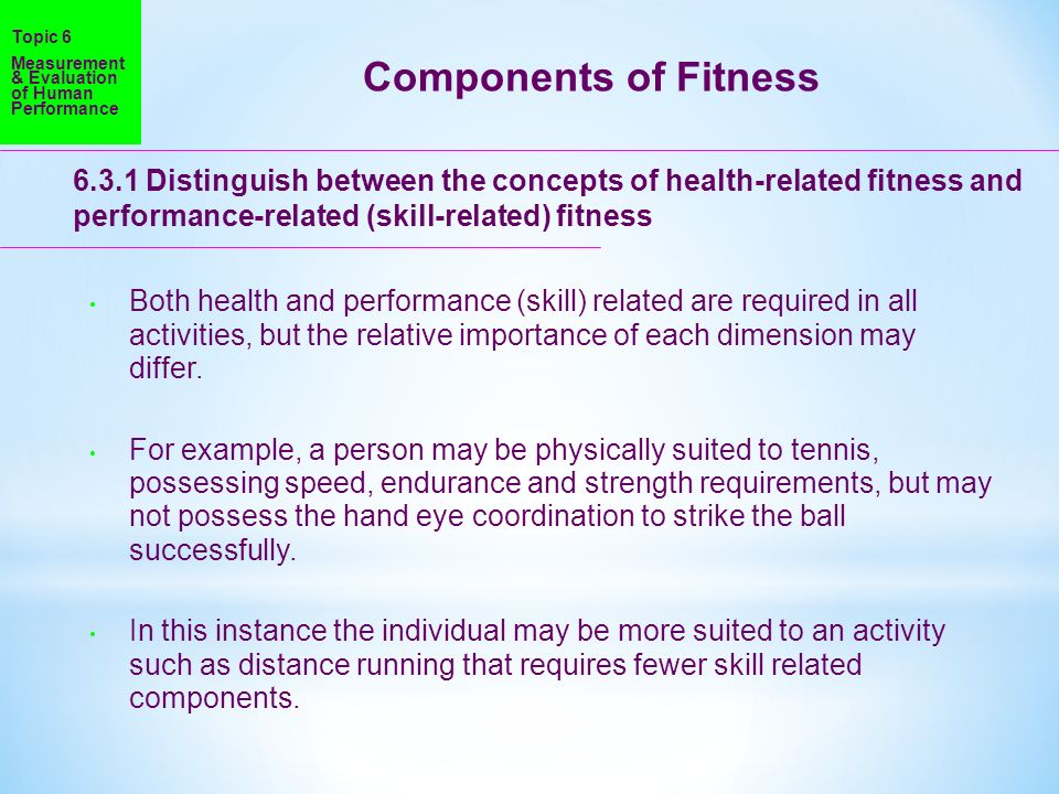 Fitness classroom activities physical education. Health related.