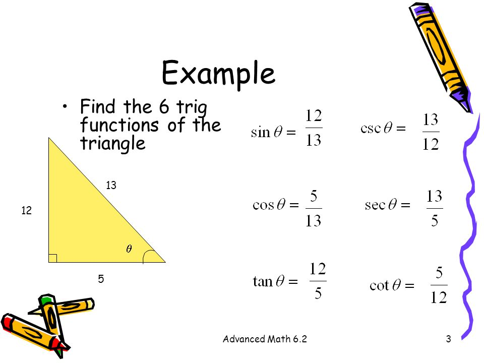 Right Triangle Trigonometry Ppt Download