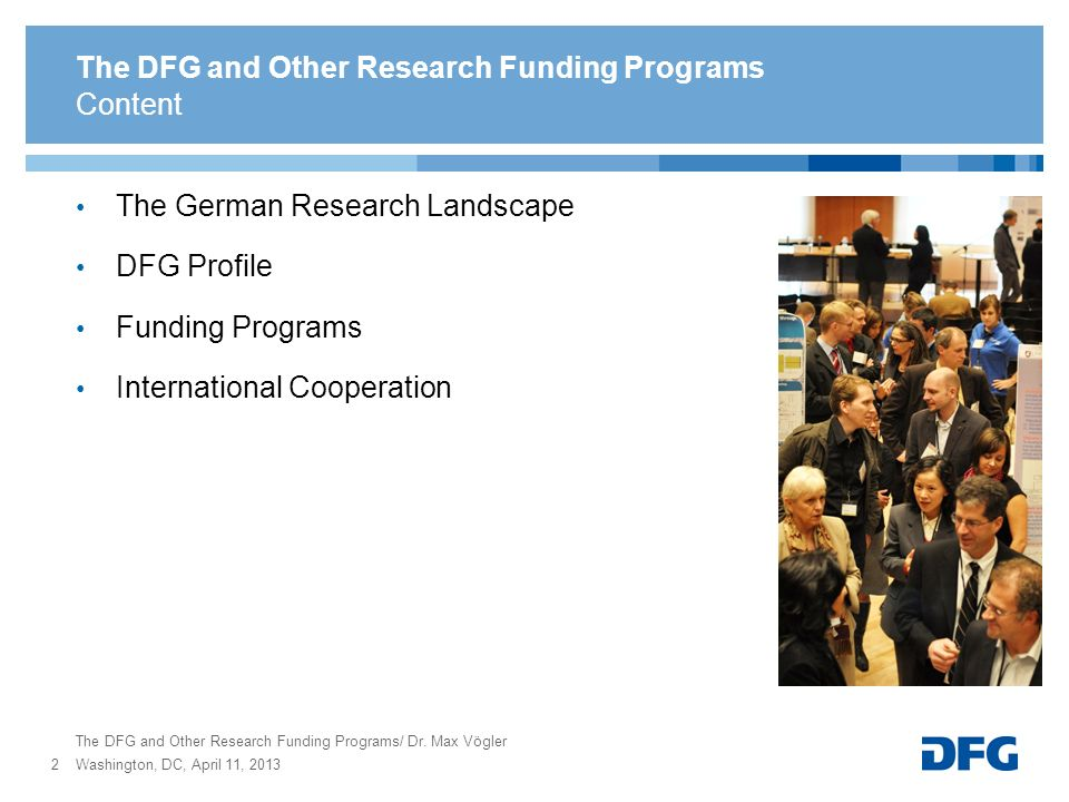Funding for Research in Germany - ppt video online download