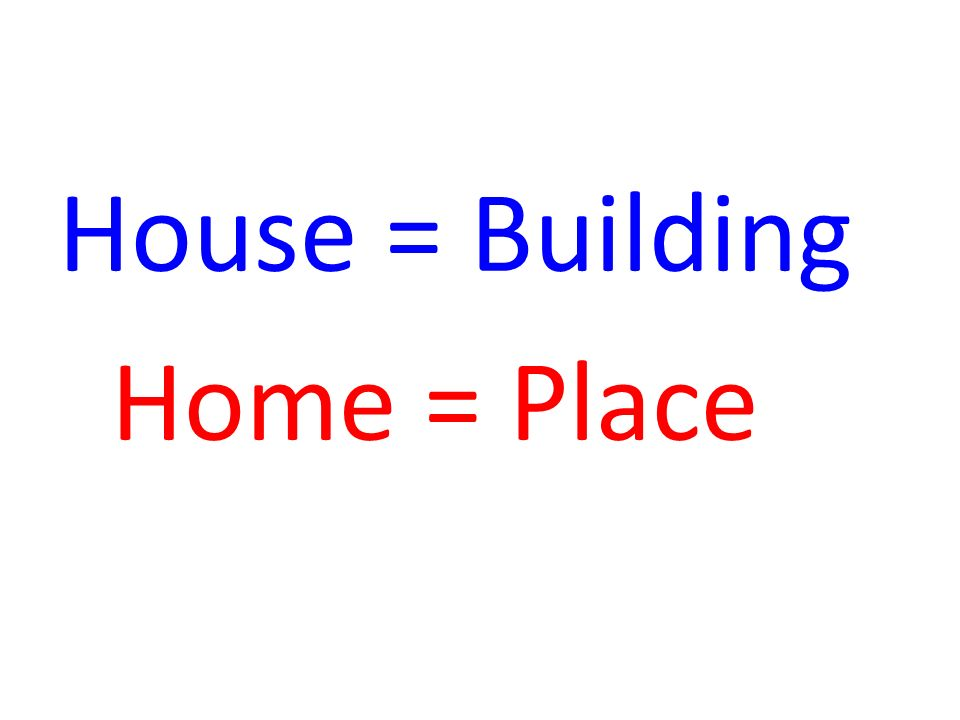 perbedaan home dan house