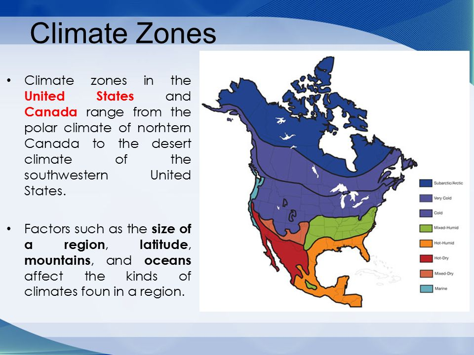 Chapter 4:The United States and Canada:Physical Geography - ppt ...