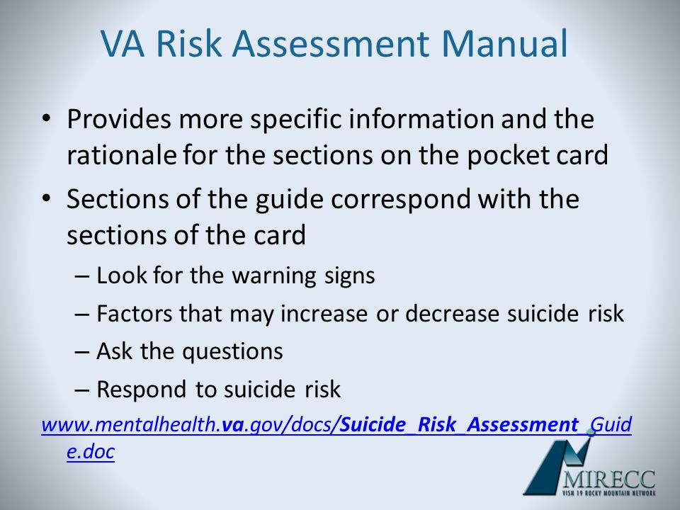 Suicide Risk Assessment And Prevention In Military Personnel Ppt