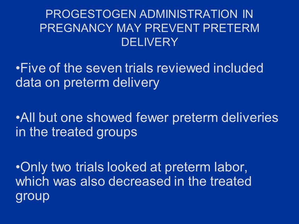Progesterone…We can prevent some prematurity if we try - ppt video