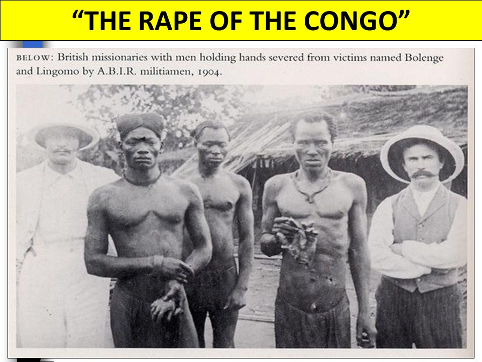 THE RAPE OF THE CONGO