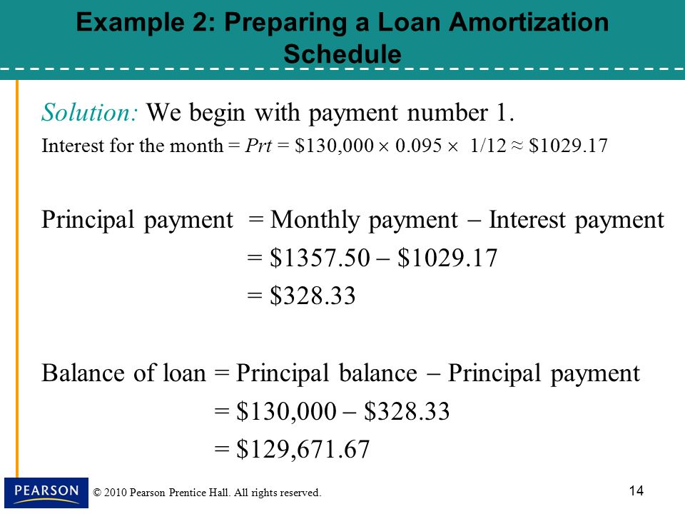8 5 installment loans amortization and credit cards ppt download