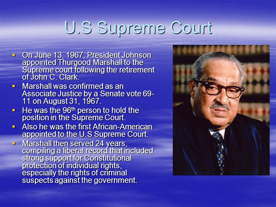 Image result for thurgood marshall nominated to the supreme court