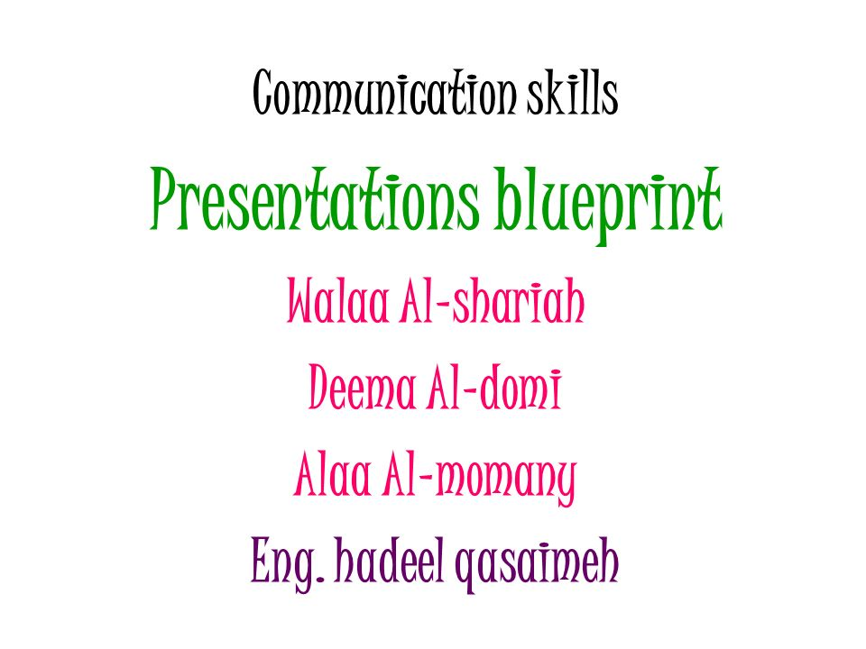 Presentations blueprint ppt download presentations blueprint malvernweather Choice Image