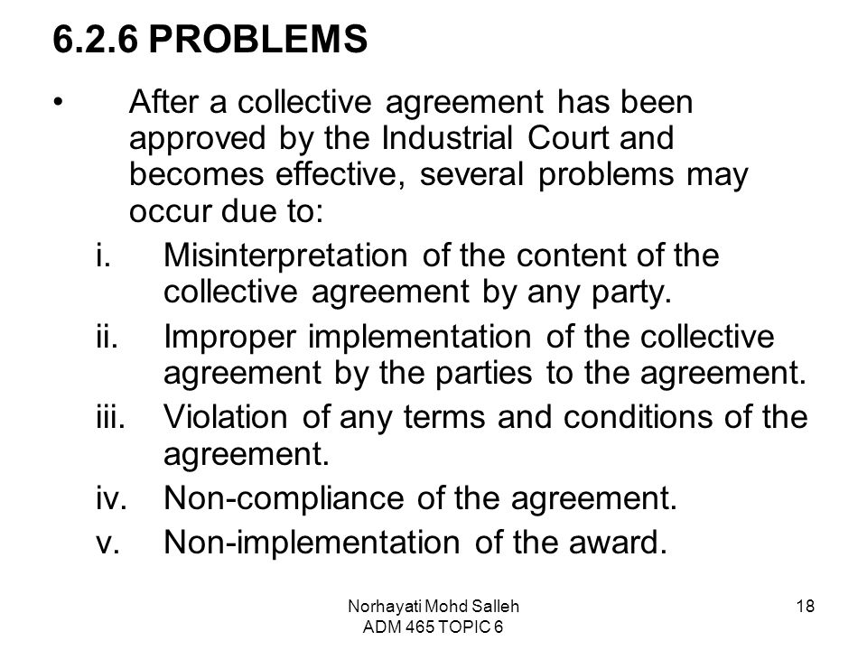Topic 6 Collective Bargaining And Collective Agreement Ppt Video