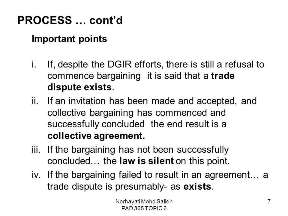 Topic 6 collective bargaining and collective agreement ppt video 7 norhayati stopboris Choice Image