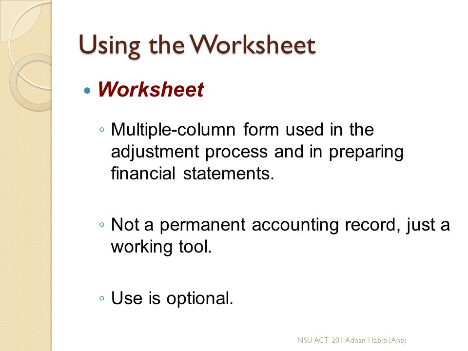 CH-4: Completing the Accounting Cycle - ppt download