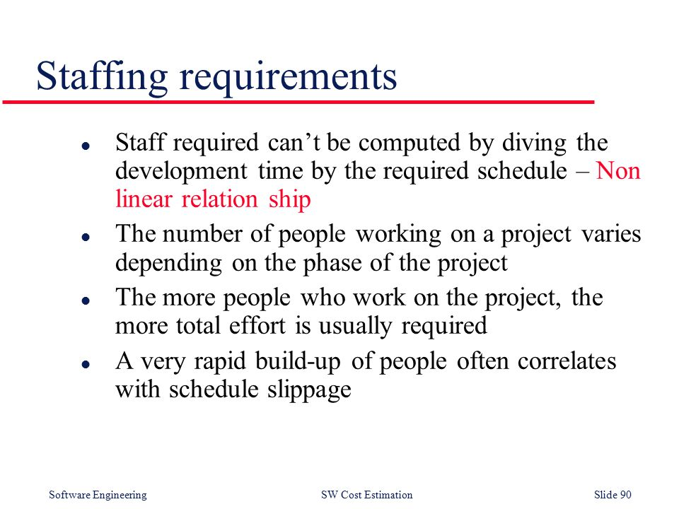 Software Cost Estimation - ppt download