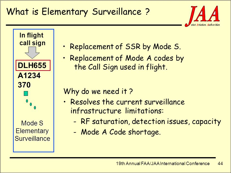 What is Elementary Surveillance