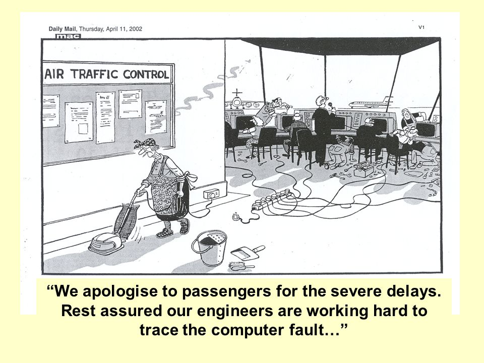 We apologise to passengers for the severe delays