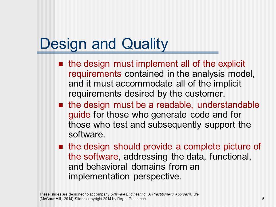 design concepts in software engineering pdf pressman
