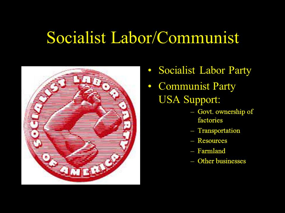 Socialist Labor/Communist