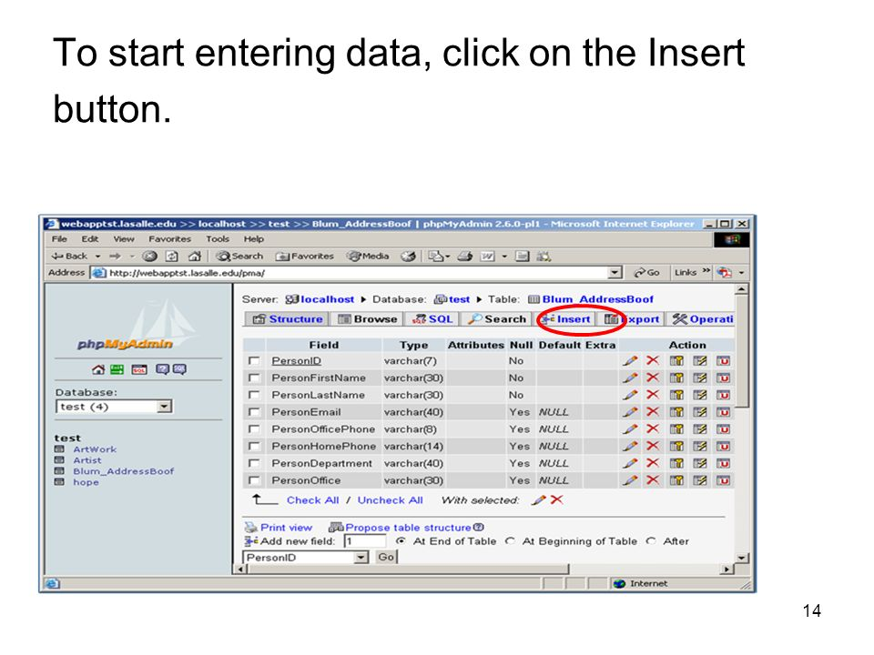 PHP meets MySQL  - ppt download