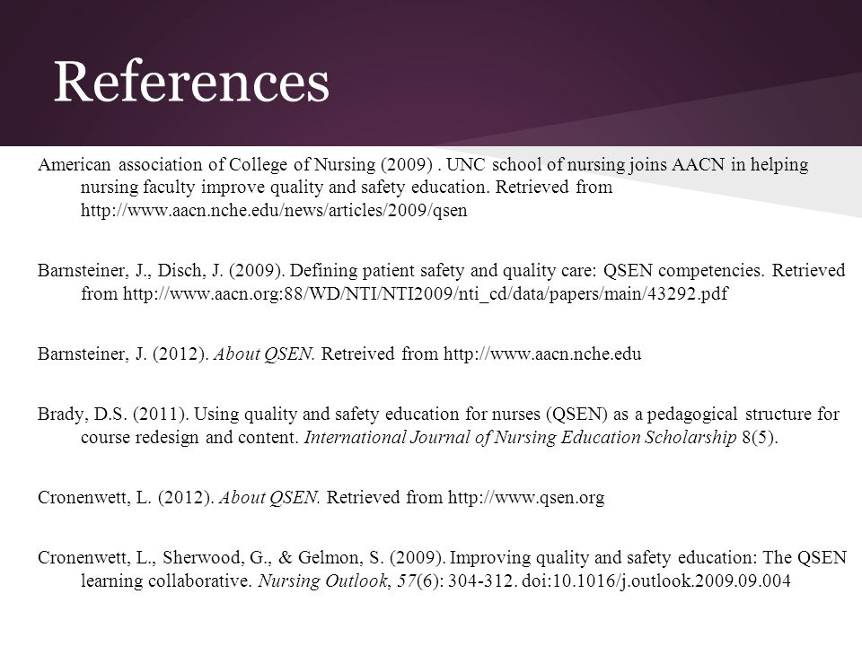 Quality & Safety Education for Nurses - ppt video online