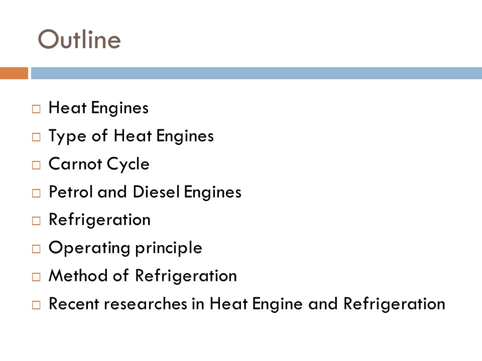 Heat engine.