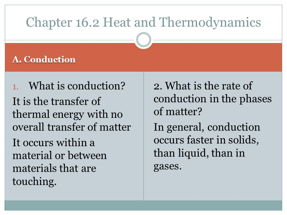 Thermal Energy and heat - ppt video online download