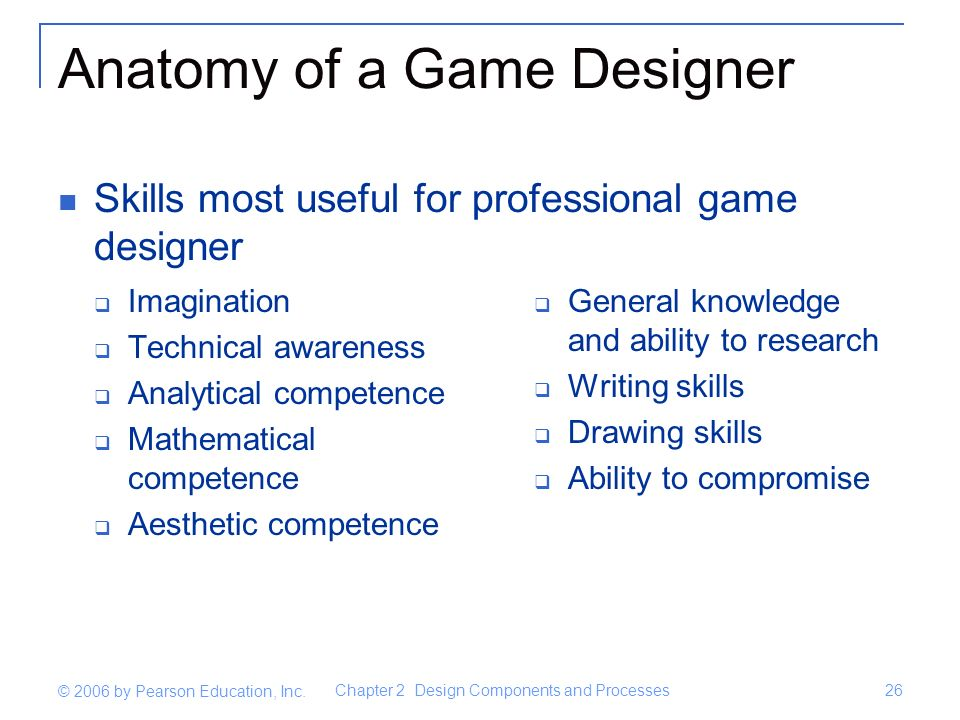 Fundamentals Of Game Design Ppt Video Online Download - Game designer education requirements