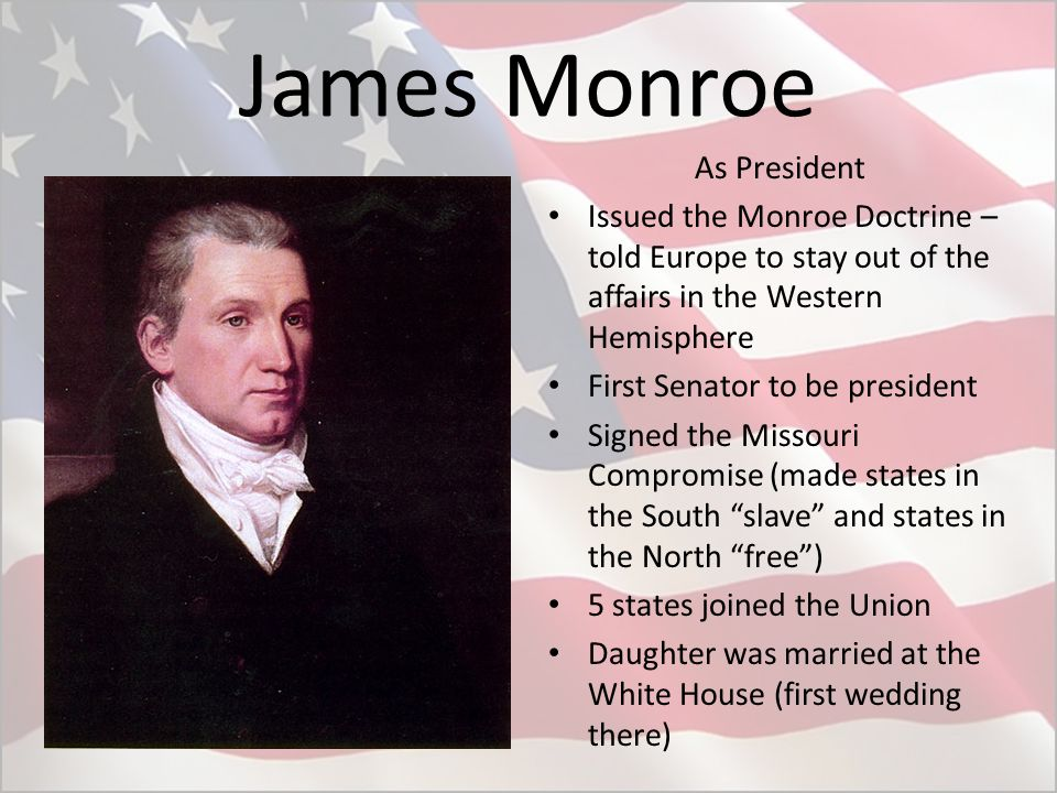 The First Five American Presidents - ppt video online download