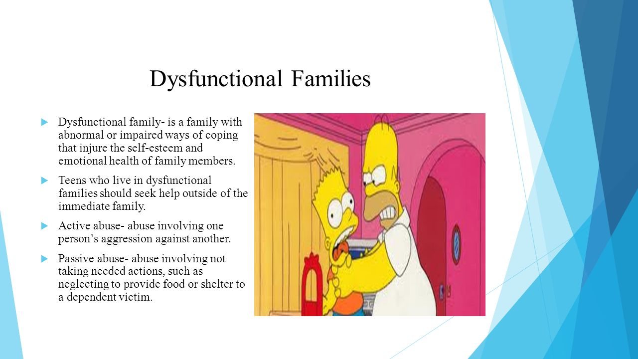 How to Cope with a Dysfunctional Family