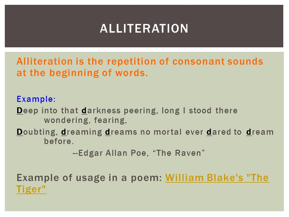 Poetry Terms English I Ppt Download
