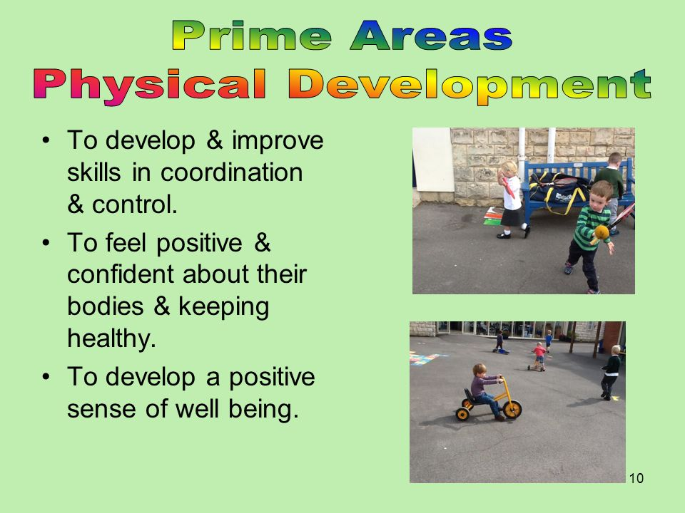 Prime Areas Physical Development