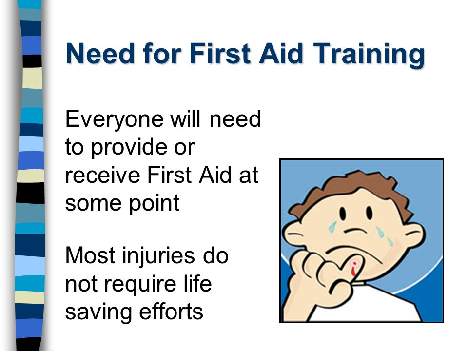 Need for First Aid Training