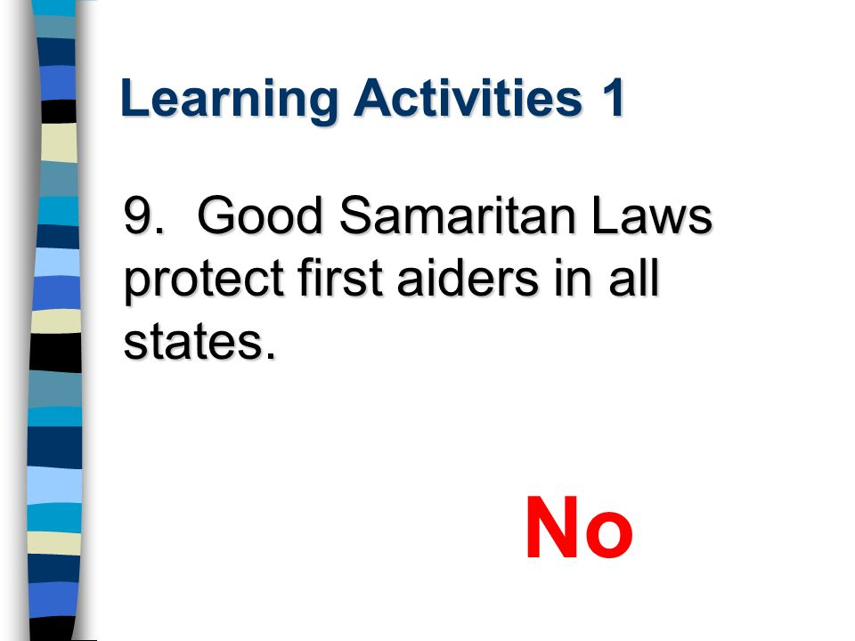 No Learning Activities 1