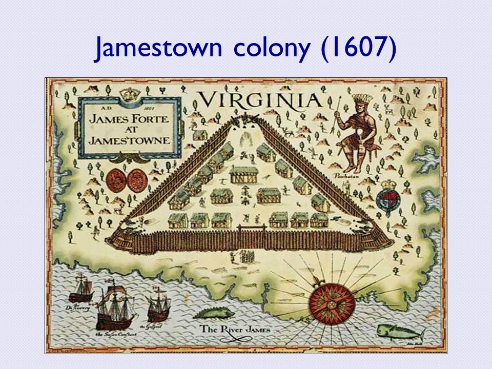 Image result for the settlement of jamestown 1607