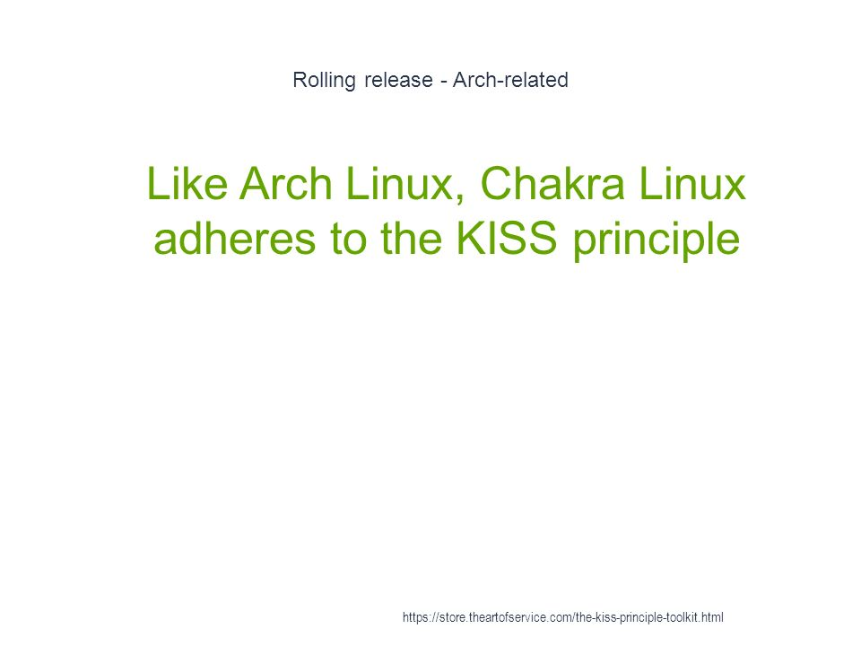 KISS Principle - ppt video online download