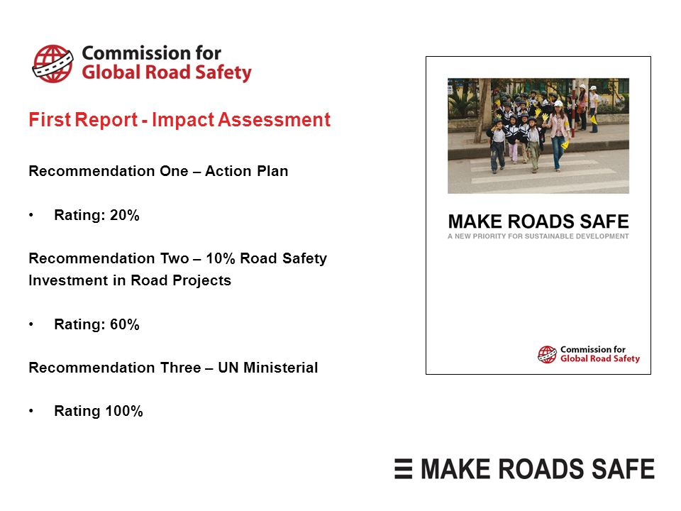 First Report - Impact Assessment
