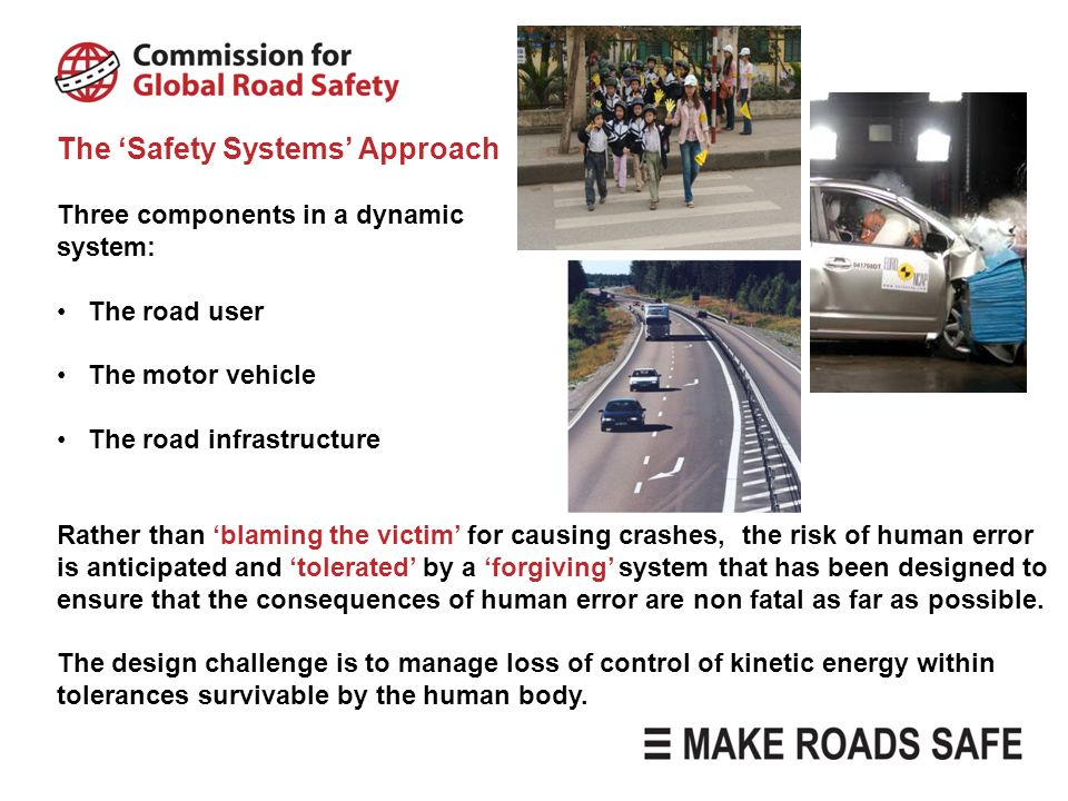 The 'Safety Systems' Approach