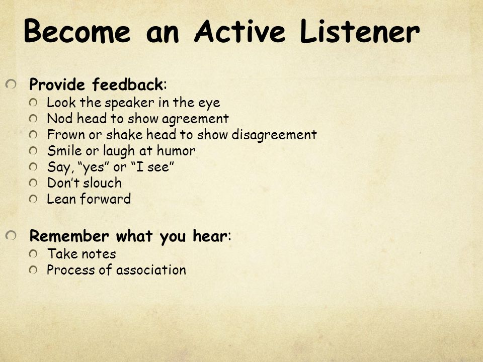 Presentation Active Listening - SlideShare