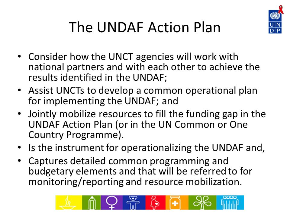 The UNDAF Action Plan
