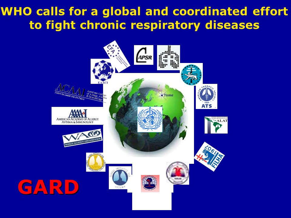 GARD WHO calls for a global and coordinated effort