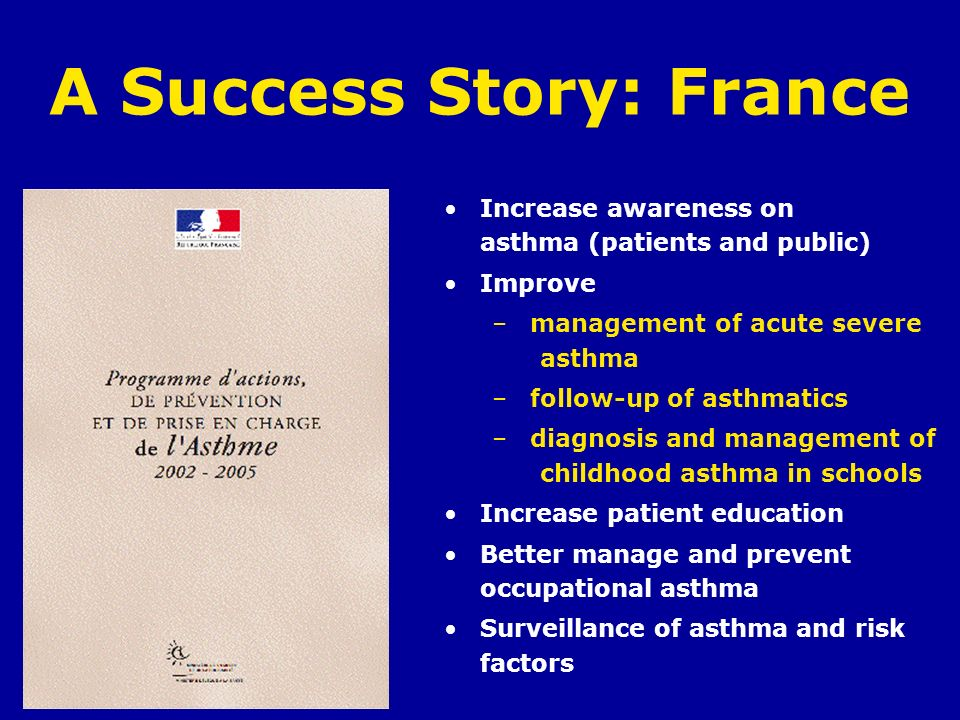 A Success Story: France