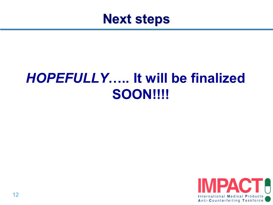 HOPEFULLY….. It will be finalized SOON!!!!
