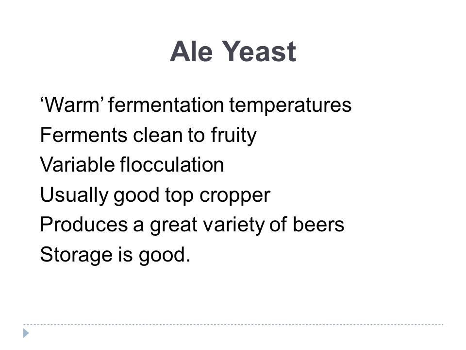 Choosing the Right Yeast - ppt video online download