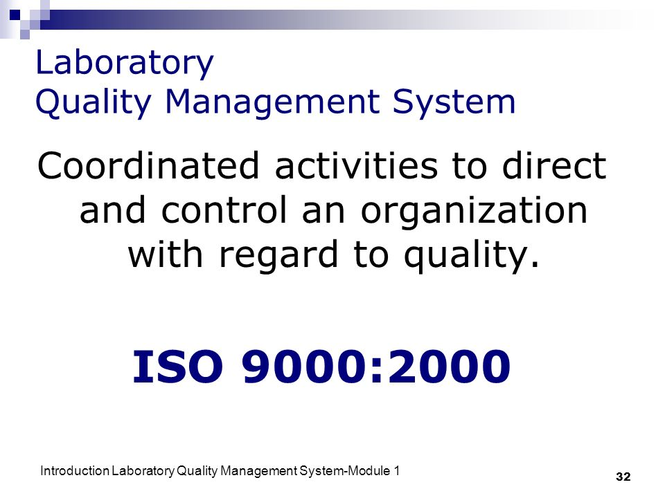 Introduction- Laboratory Quality Management System - ppt ...