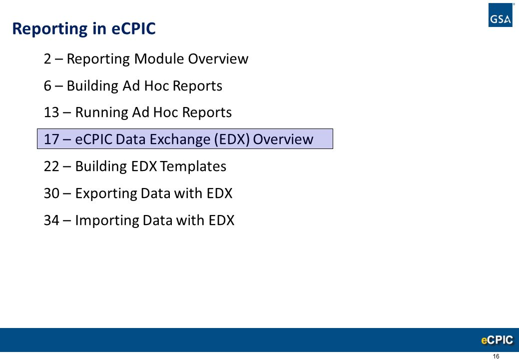 Reporting In ECPIC 2 Reporting Module Overview Ppt Video Online