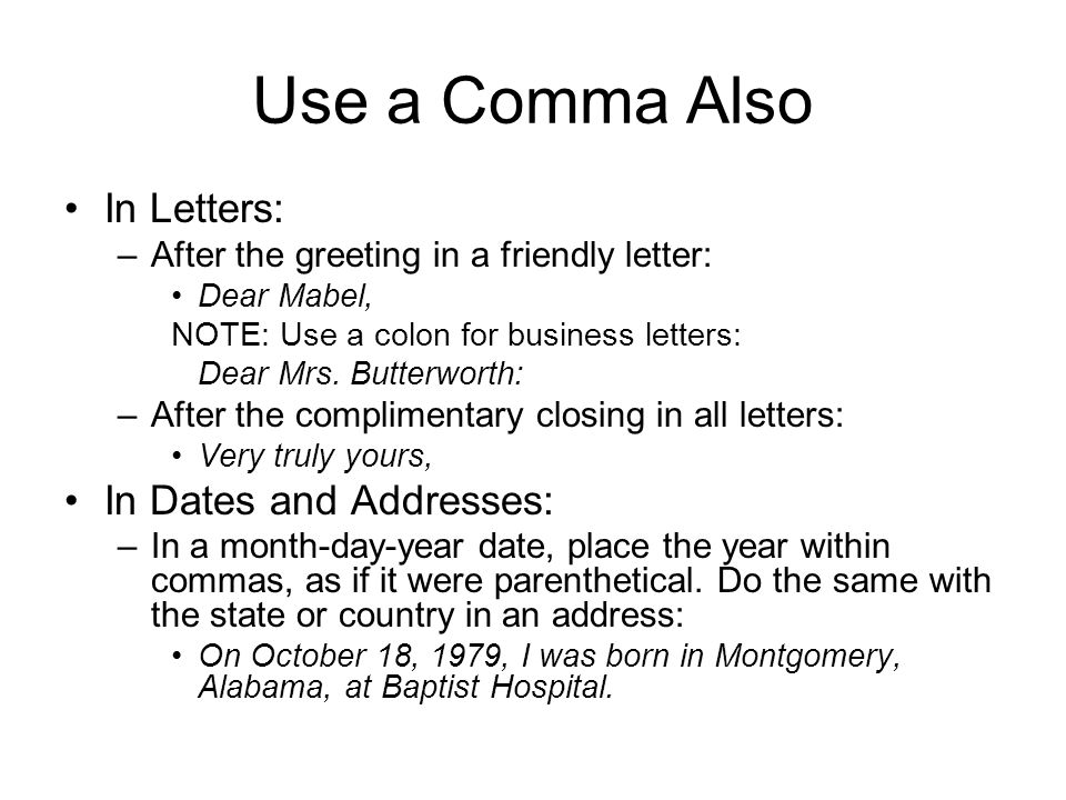 Comma after date in Australia